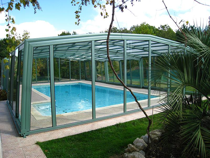 Alpin High Enclosure Pool Enclosure 5-Angle