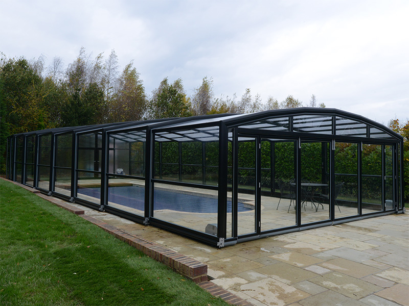 Maestro High Enclosure Pool Enclosure 7-Angle