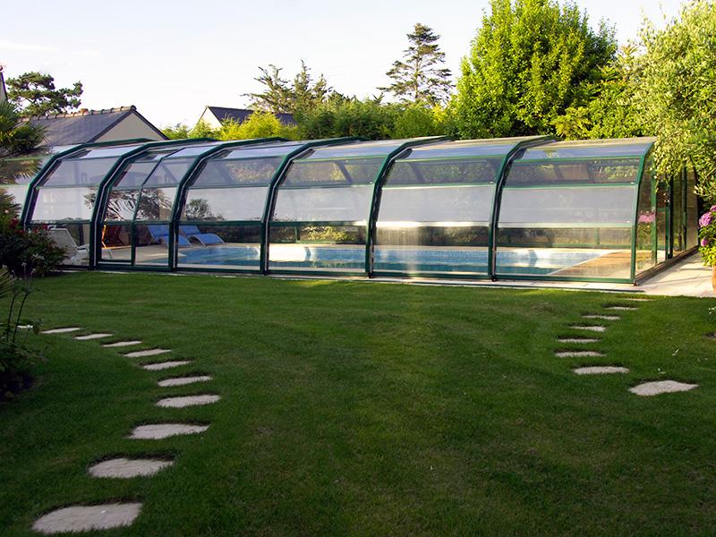 Ondine High Enclosure Pool Enclosure 9-Angle